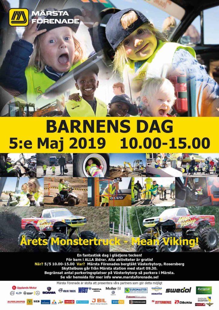 Affisch Barnens Dag 2019 Low