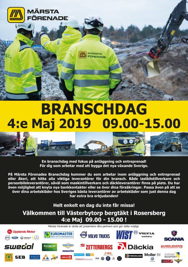 Affisch BranschDag 2019