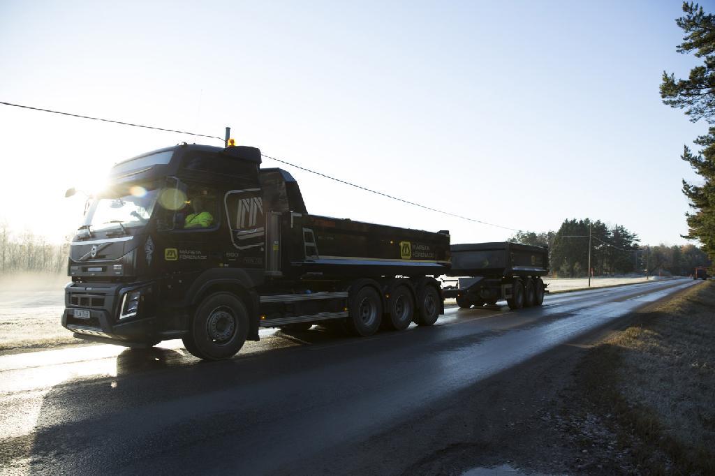 Lastbilstransport - Märsta Förenade Åkeri