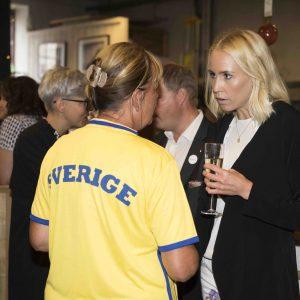 Supporter Lena Fransson Kommundirektîr Knivsta