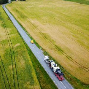 Hållbarhet - specialtransport på landsväg